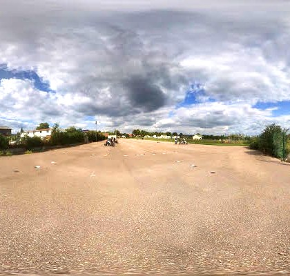VISITE DES PISTES PRIVÉES EN 360°