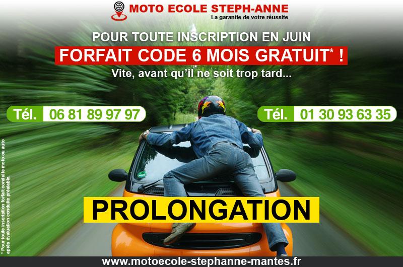 Forfait code 6 mois OFFERT Nouvelle Prolongation !