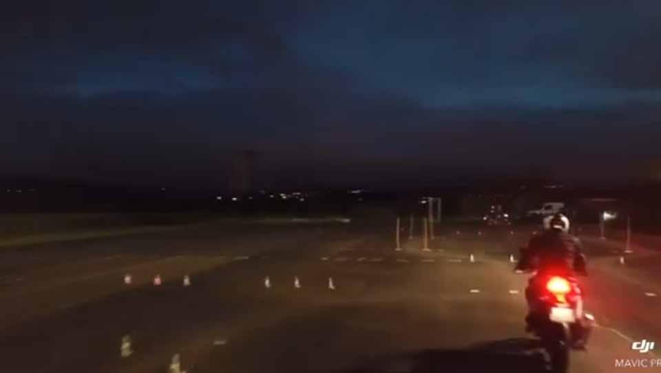 Un drone à l'auto école ! Vidéo (suite)